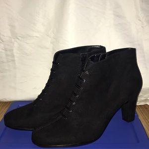 Shoes - Black Suede Boots